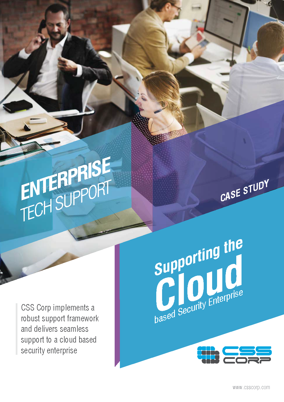 Supporting the cloud based security enterprise