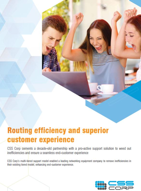 Routing Efficiency And Superior Customer