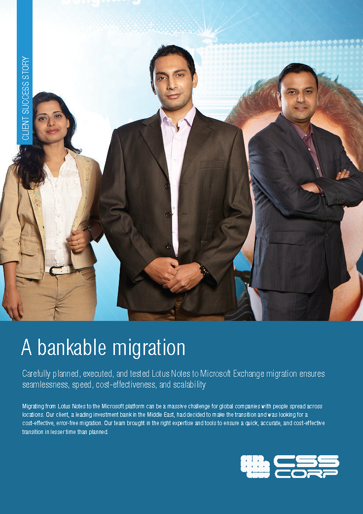 A Bankable Migration