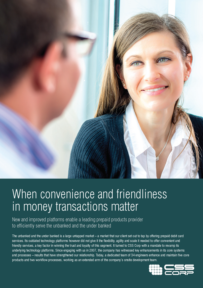 When convenience and friendliness in money transactions matters