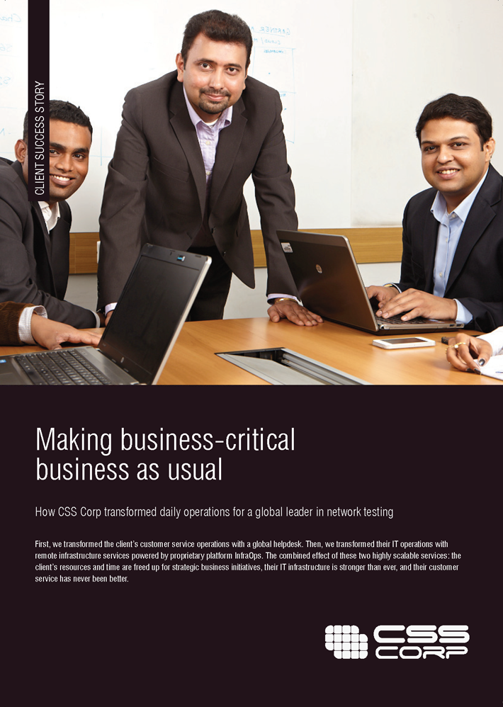Making business critical business as usual