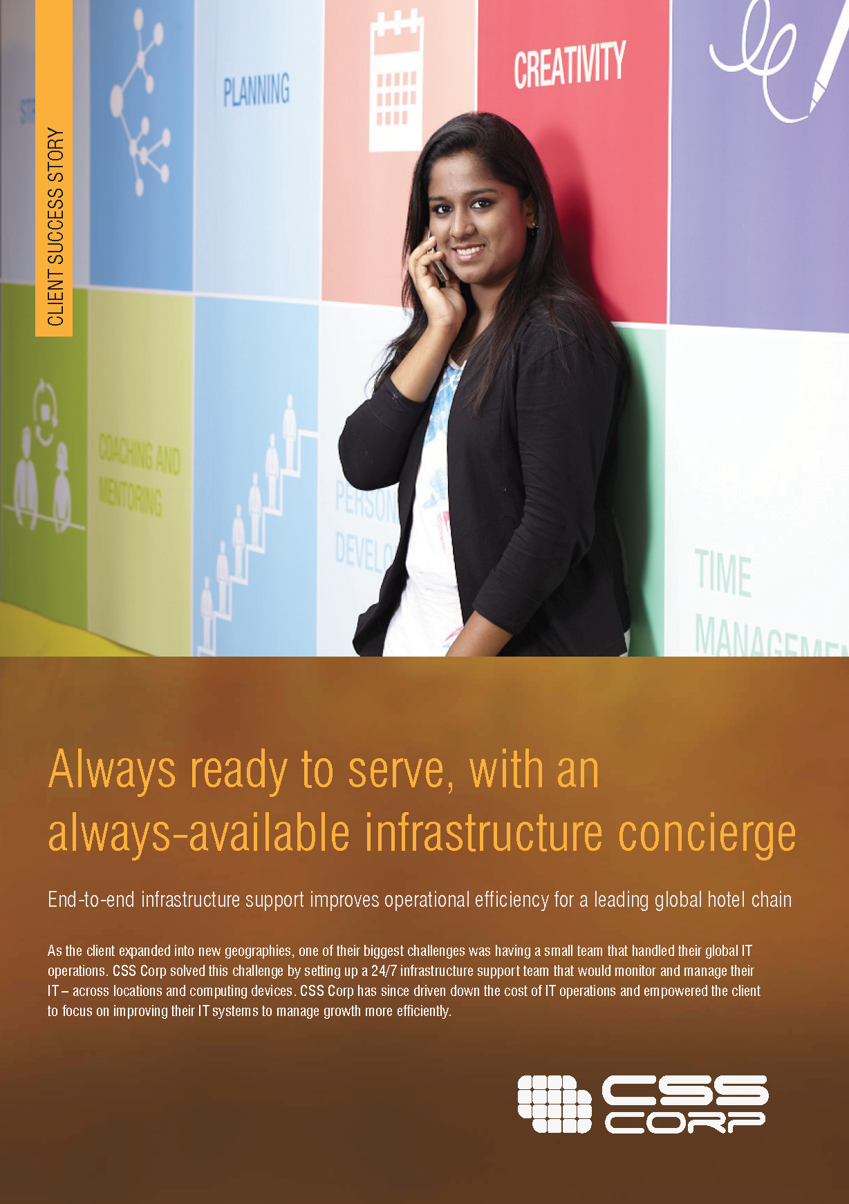 Always available infrastructure concierge