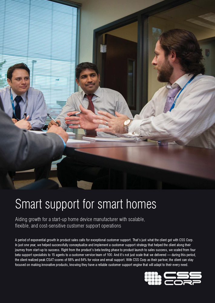 Smart support for smart homes