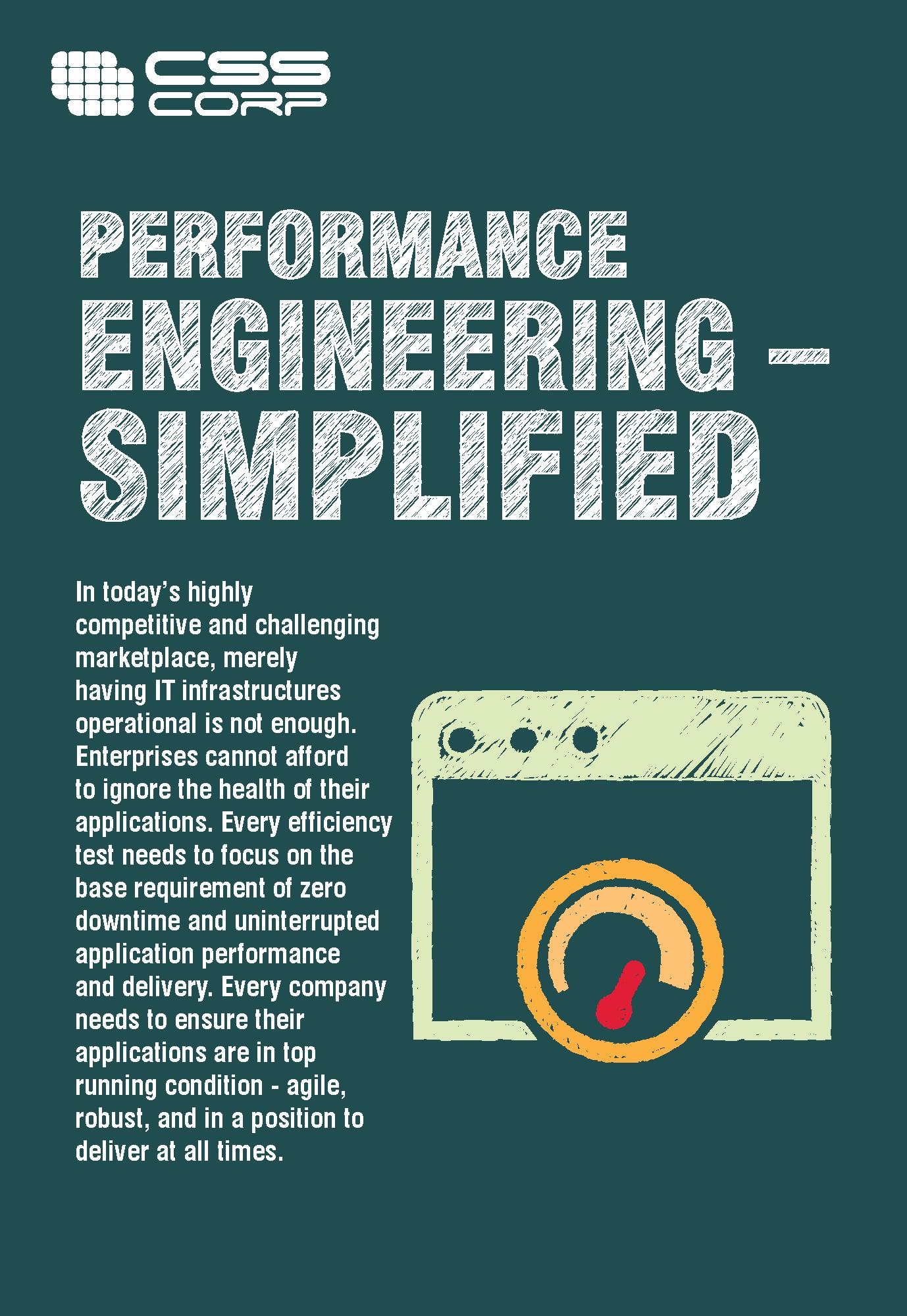 Performance Engineering simplified